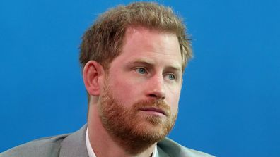 Prince Harry announces a partnership called 'Travalyst' at A'dam Tower on September 03, 2019 in Amsterdam.