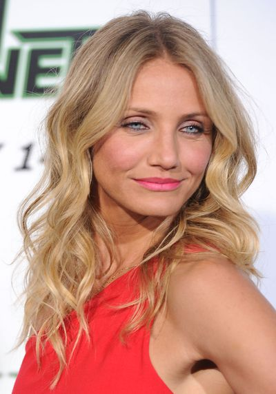 Cameron Diaz at <em>The Green Hornet</em> premiere in Hollywood, January, 2011
