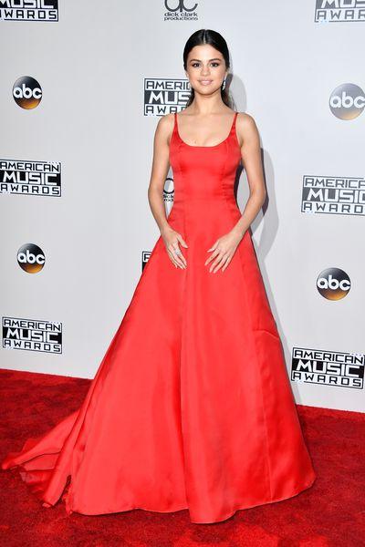 Selena Gomez in Prada at the 2016 American Music Awards