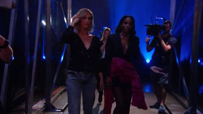 Kelly and Delta walked off stage amidst the drama