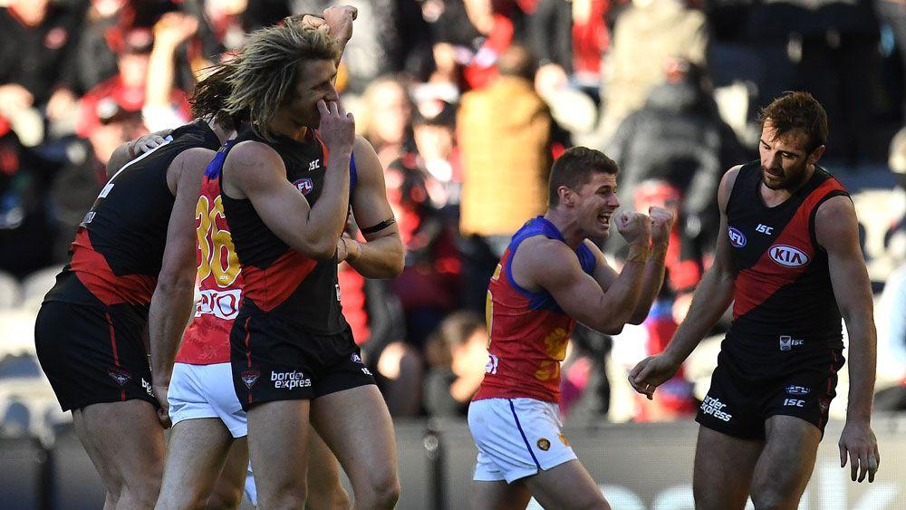 Brisbane Lions stun Essendon in AFL upset