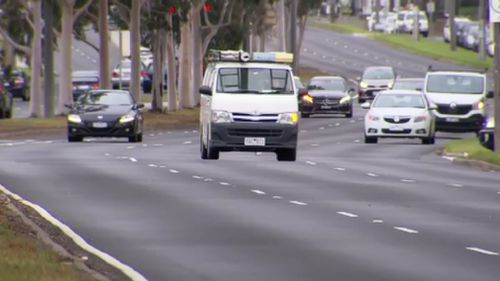 One mobile camera in Noble Park caught a driver every 180 seconds. (9NEWS)