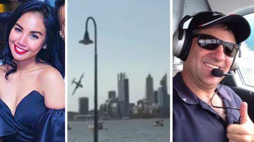 Police identify pair who died in Australia Day plane crash in Perth