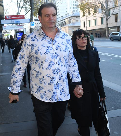 190626 John Setka court Melbourne Victoria harassment wife Emma Walters