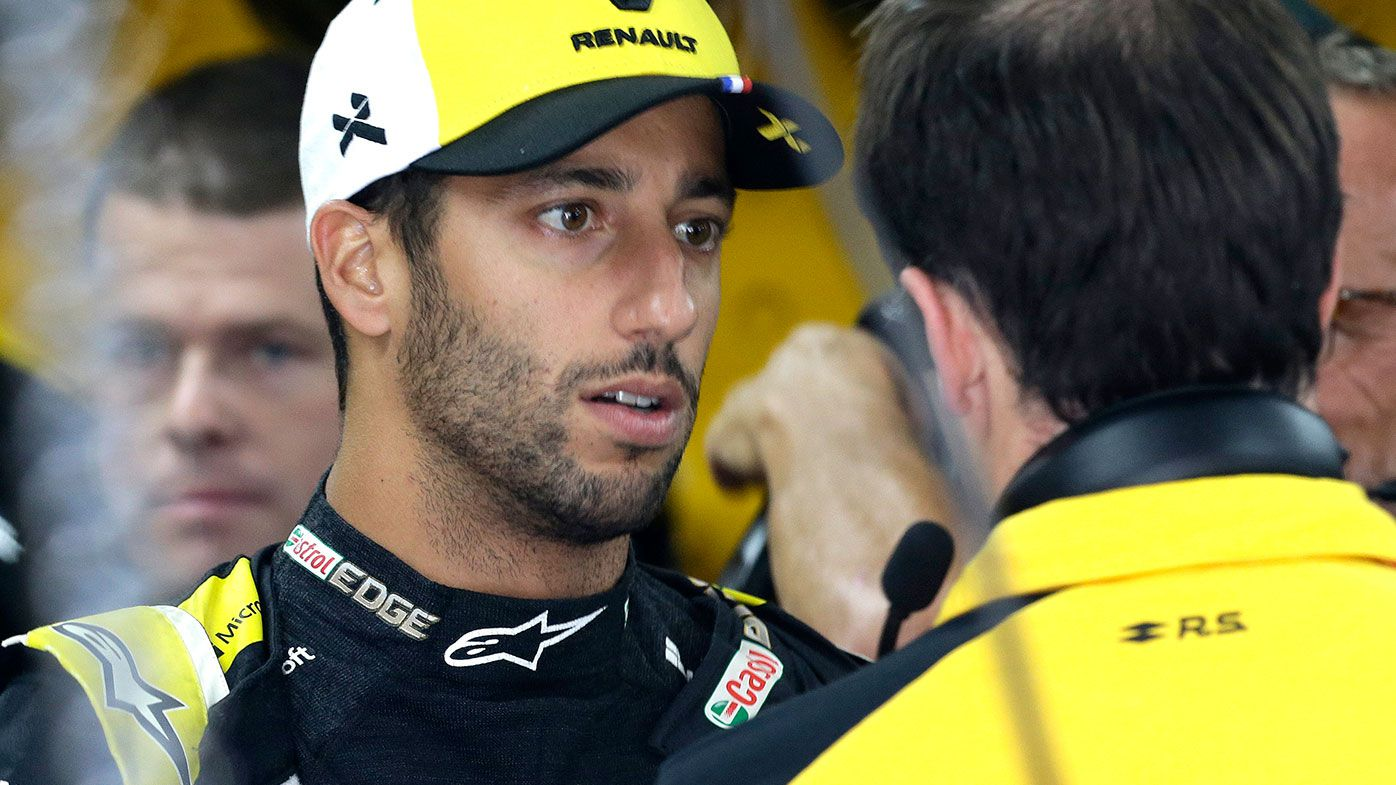 Daniel Ricciardo was penalised by officials for a move during the French Grand Prix.