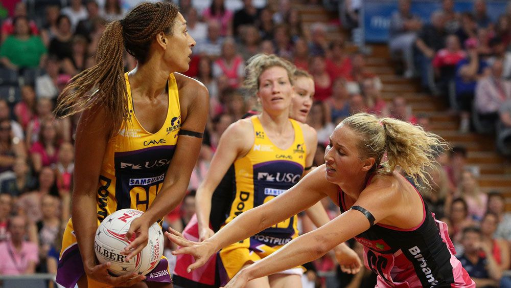 Sunshine Coast's geva Mentor and Adelaide's Erin Bell.