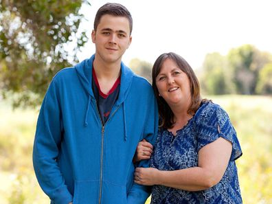 Mother and son epilepsy health struggle medical cannabis