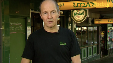 Pieter van Rijn fears his staff will cop abuse from unvaccinated diners.