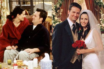 "Pheobe (Lisa Kudrow) said it best, telling Chandler (Matthew Perry): ""You know how you always see these gorgeous women with these really nothing guys? You could be one of those guys!"""