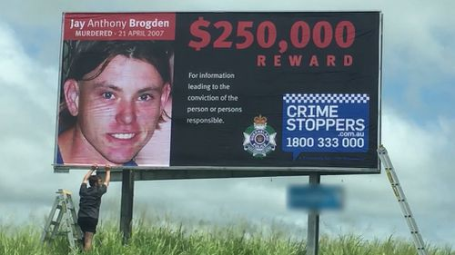 Jay Brogden: Police convinced missing man was murdered 'after death threats'