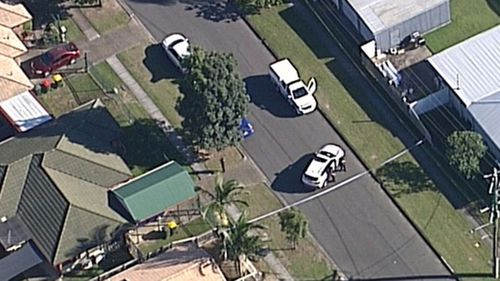 A man has suffered multiple chest injuries in Sunnybank Hills.