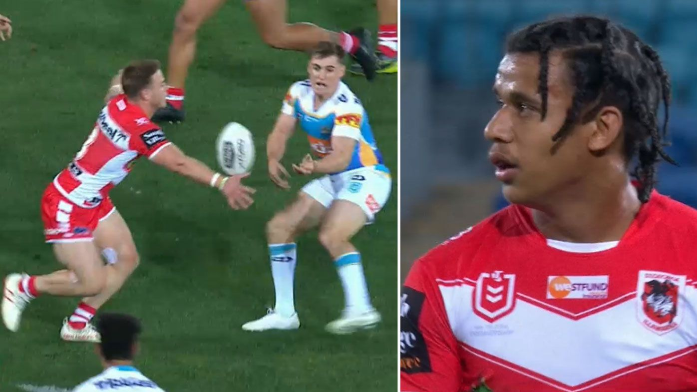 Dragons beat Titans in Widdop and Gordon's NRL farewell, but Joey livid at the Bunker