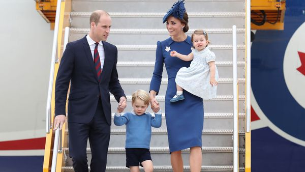The Duke and Duchess of Cambridge, Prince Charlotte, Prince George in CanadA