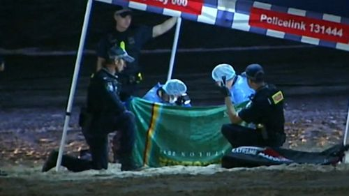 Police allege the baby girl was thrown into the Tweed River.