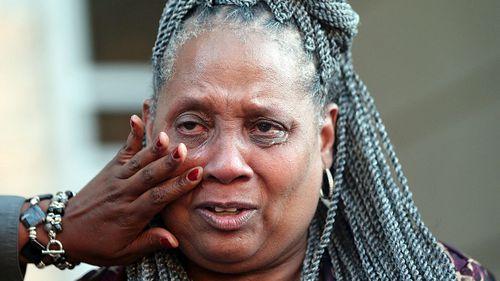 Wilbert Jones' sister-in-law, Wilda Jones on his release. (Photo:AP).