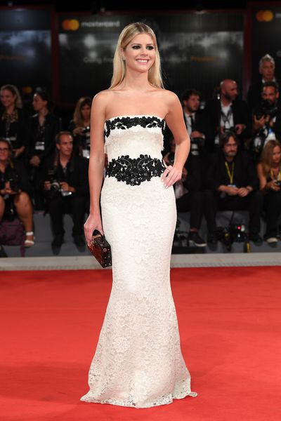 Lala Rudge in Dolce & Gabbana at the 2017 Venice Film Festival