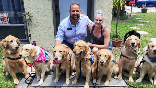 Orlando shooting: Specially trained dogs bring comfort to community devastated by shooting