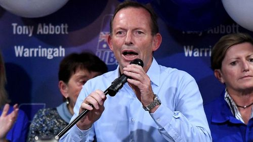 190518 Federal Election 2018 Tony Abbott Warringah loss Politics News Australia