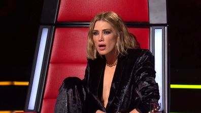 Delta Goodrem is amazed by Bukhu's performance on The Voice 2020