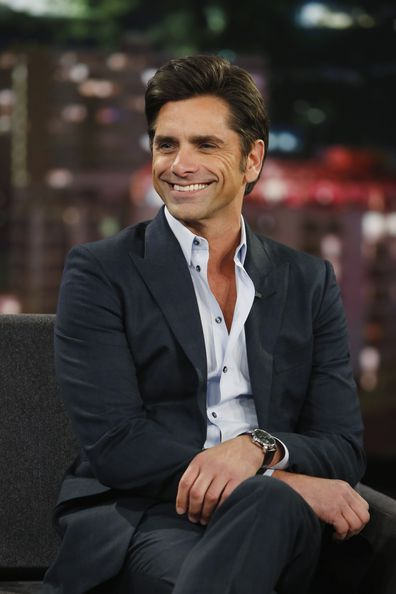 John Stamos, Big Shot, interview, Disney Plus, Jimmy Kimmel Live, 2016