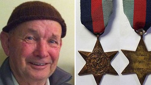 Man admits he killed war vet, stole medals