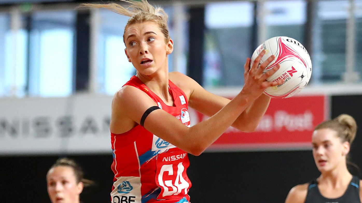 NSW Swifts seal victory in final seconds of 145-goal thriller against West Coast Fever