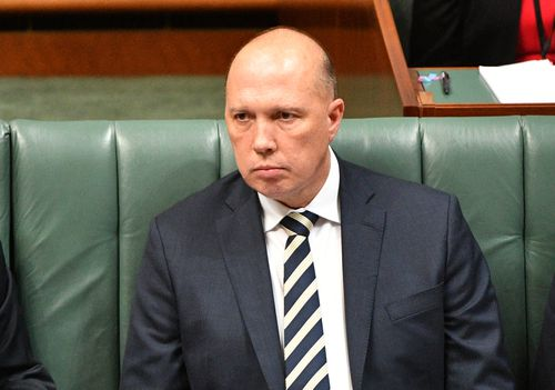 "Mr Dutton has been a vocal critic of gang violence in Victoria, earlier this year sparking controversy by saying on a Sydney radio station that Melbourne residents are ""too scared to go out to restaurants""."