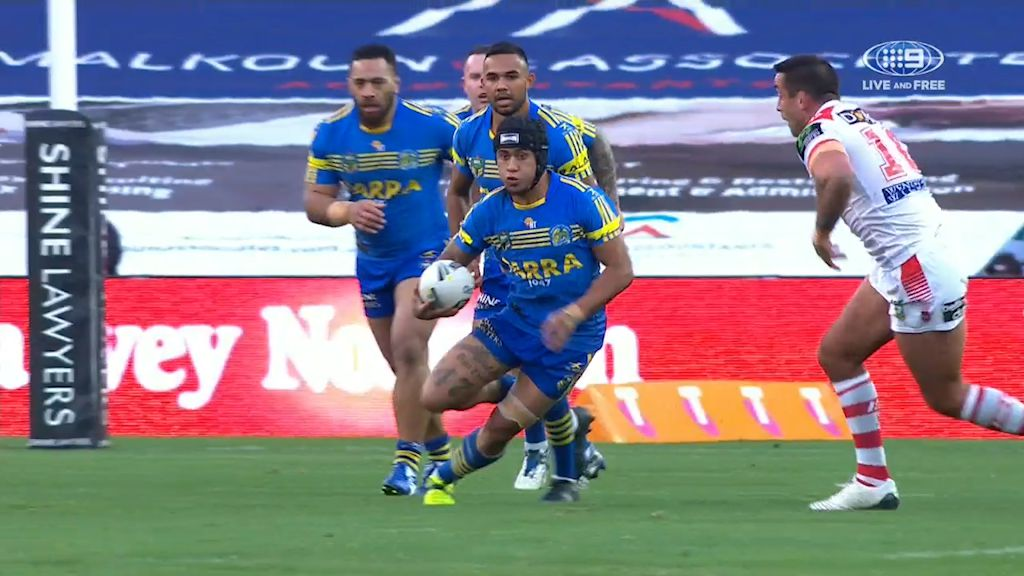 Parramatta Eels' Kaysa Pritchard ruled out for the rest of the NRL season