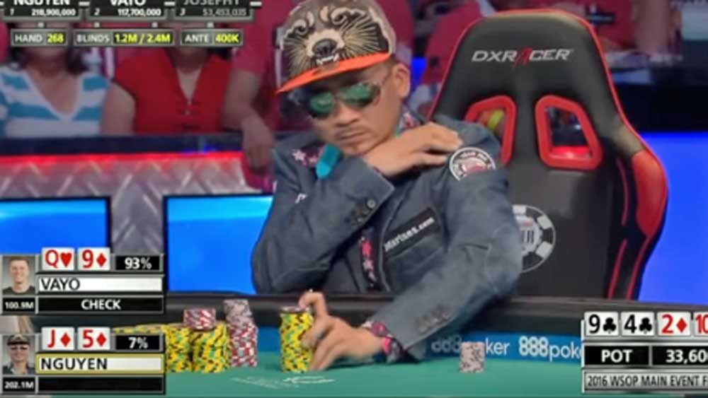 Poker: Massive bluff helps player win World Series of Poker Main Event