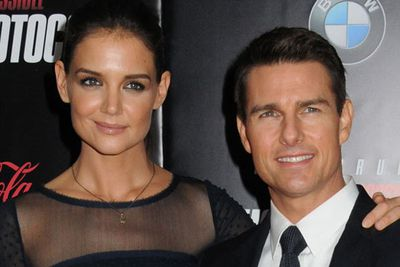 Tom Cruise and Katie Holmes<br />