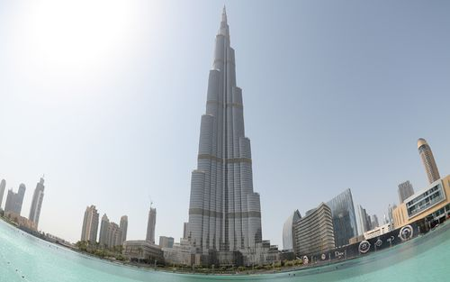 The Burj Khalifa is the world's tallest building. (Getty)