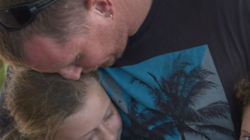 Mr MacKay says he is going to avoid the sea for some time. (9NEWS)