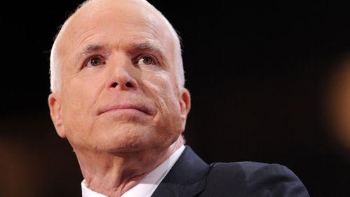 John McCain died on Saturday.