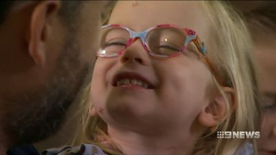 'She had seizures': Free flu jab for young kids