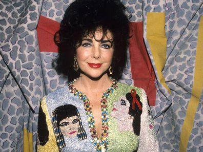 Elizabeth Taylor in 1991