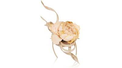 """<p><a href=""""http://www.net-a-porter.com/product/559586/Philip_Treacy/buntal-scroll-and-rose-embellished-parisisal-headpiece"""" target=""""_blank"""">Buntal scroll and rose-embellished parisisal headpiece, $1965.32, Philip Treacy</a></p>"""