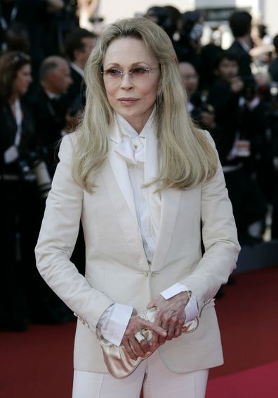 Faye Dunaway arrives at the 60th International film festival in Cannes in 2007.