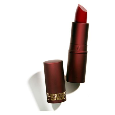 """<a href=""""http://mecca.com.au/lipstick-queen/medieval-tinted-treatment/I-016133.html"""" target=""""_blank"""">Lipstick Queen Medieval Tinted Treatment, $35.</a>"""