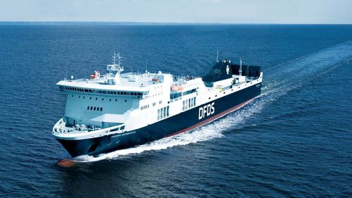 Stranded Baltic Sea ferry continues on journey after breakdown