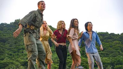 Maggie Q, Lucy Hale, Portia Doubleday, Austin Stowell, Jimmy O.Yang,.