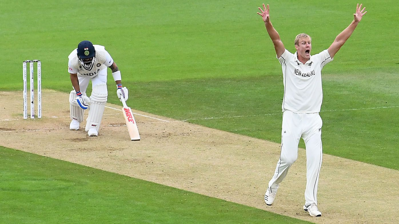NZ paceman Kyle Jamieson snares five wickets in WTC final, India leads by 116 runs