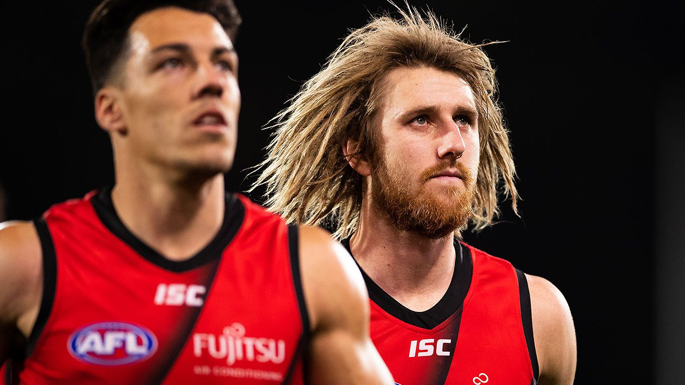 Dyson Heppell and Orazio Fantasia under major injury clouds for resurgent Bombers