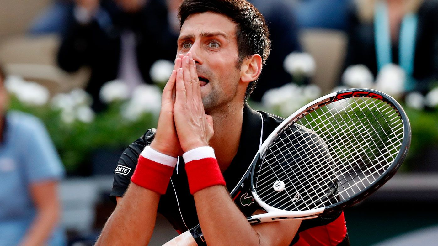 Novak Djokovic casts Wimbledon doubt after shock defeat to Marco Cecchinato at Roland Garros