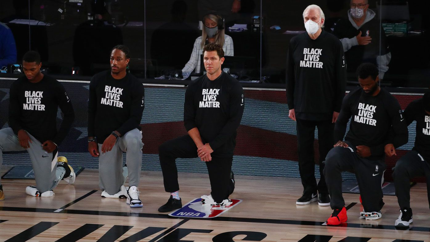 Nba News Gregg Popovich Refuses To Explain Why He Didn T Kneel During Us National Anthem