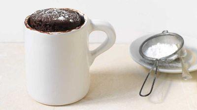 """Recipe: <a href=""""http://kitchen.nine.com.au/2017/08/10/16/43/five-minute-chocolate-cake-in-a-mug"""" target=""""_top"""">Five minute chocolate cake in a mug</a>"""