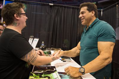 <strong>...and Lou Ferrigno now.</strong>