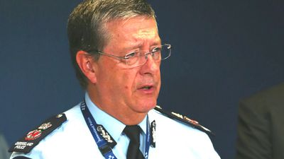 Queensland Police Commissioner Ian Stewart. (AAP)