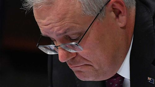 News Corp has denied Scott Morrison's claims there was a misconduct investigation in place over a Parliament House encounter.