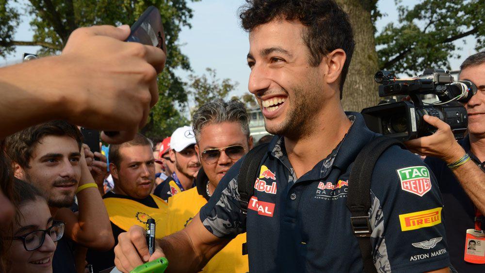 Ricciardo in nightmare interview with Kyle Sandilands