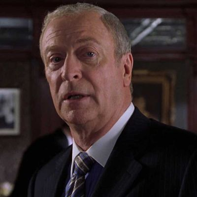 Sir Michael Caine as Victor Melling: Then